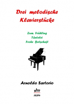 Drei melodische Klavierstücke