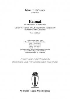 Heimat (Tenor 1)