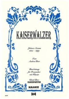 Kaiserwalzer (Frauenchor 3st - Klavier)