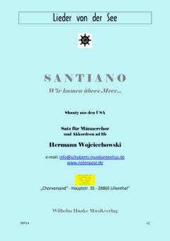 SANTIANO (Männerchor)