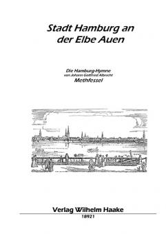 Stadt Hamburg an der Elbe Auen (Klavier u. Gesang)