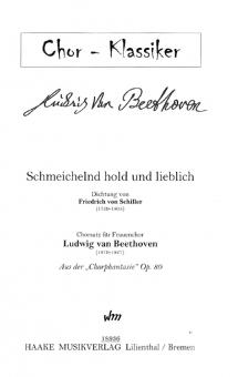 Schmeichelnd hold und lieblich (Frauenchor)