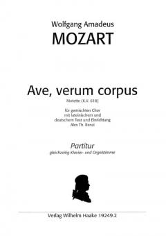 Ave, verum corpus (gemischter Chor - Klavier / Streicher)