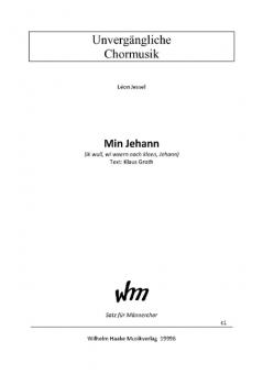 Min Jehann (Männerchor)
