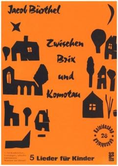 Zwischen Brix und Komotau  (Partitur)