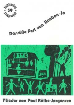 Das süße Fest von Bonbon-Jo (Klavierpartitur)