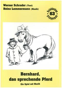 Bernhard, das sprechende Pferd (Klavierpartitur)