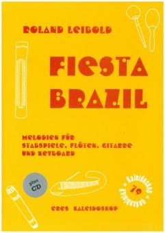 Fiesta Brazil (Spielpartitur mit CD)