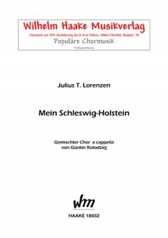 Mein Schleswig-Holstein (gemischter Chor)