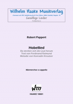 Hobellied (Männerchor)