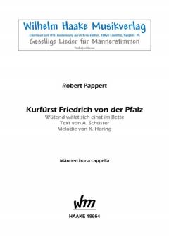Kurfürst Friedrich von der Pfalz (Männerchor)