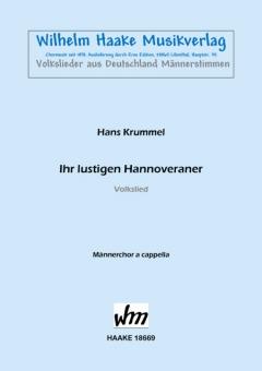 Ihr lustigen Hannoveraner (Männerchor)