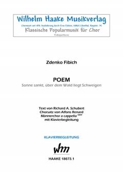 Poem (Männerchor)