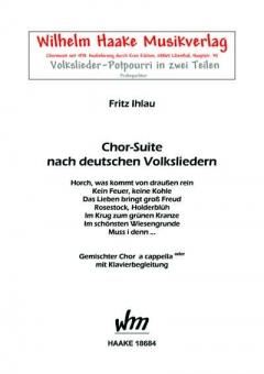 Chor-Suite (gemischter Chor)