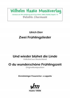 Zwei Frühlingslieder (Frauenchor 3st)