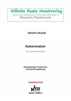 Kaiserwalzer (Frauenchor 3st)