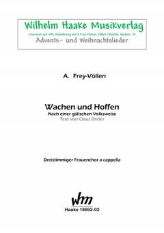 Wachen und Hoffen (Frauenchor 3st)