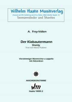 Der Klabautermann (Männerchor / Akkordeon)