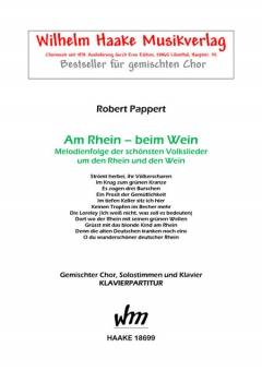 Am Rhein - beim Wein (gemischter Chor, Klavier)