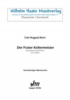 Der Frater Kellermeister (Männerchor)