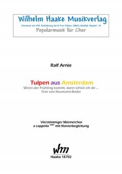 Tulpen aus Amsterdam (Männerchor)