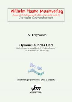 Hymnus auf das Lied (gemischter Chor)
