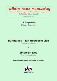 Bundeslied - Ein Hoch dem Lied (gemischter Chor)