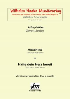 Abschied (gemischter Chor)