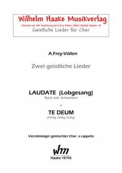 Laudate (gemischter Chor)