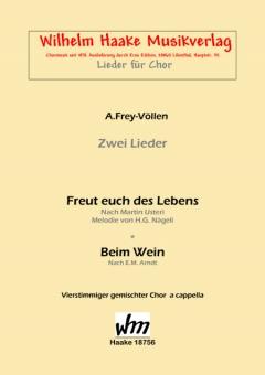 Beim Wein (gemischter Chor)