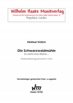 Die Schwarzwaldmühle (gemischter Chor)