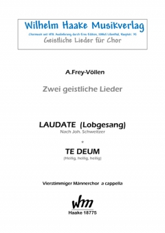 Laudate (Lobgesang) (Männerchor)