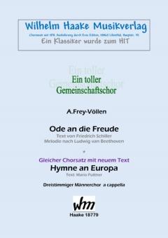 Hymne an Europa (Männerchor)