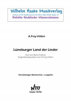 Lüneburger Land der Lieder (Männerchor)