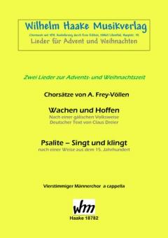 Wachen und Hoffen (Männerchor)