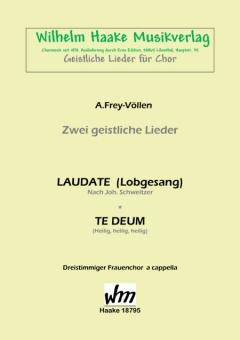 Te Deum (Heilig, heilig, heilig) (Frauenchor 3st)