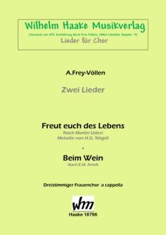 Beim Wein (Frauenchor 3st)