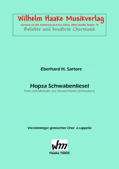 Hopsa Schwabenliesel (gem.Chor)