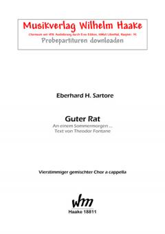 Guter Rat (gemischter Chor)