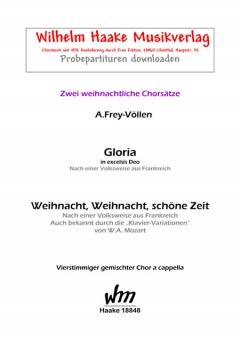 Gloria in excelsis Deo (gemischter Chor)