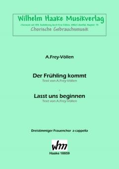 Der Frühling kommt (Frauenchor 3st)