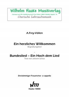 Ein herzliches Willkommen (Frauenchor 3st)