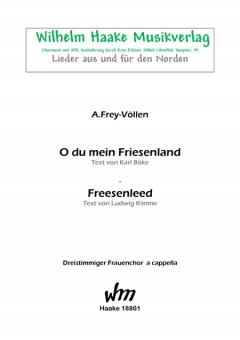 Freesenleed (Frauenchor 3st)