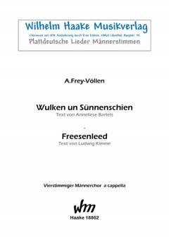 Zwei plattdeutsche Lieder (Männerchor)