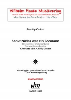 Sankt Niklas war ein Seemann (gemischter Chor)