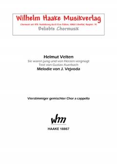Amsel-Polka (gemischter Chor)