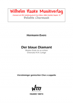 Der blaue Diamant (gem. Chor)
