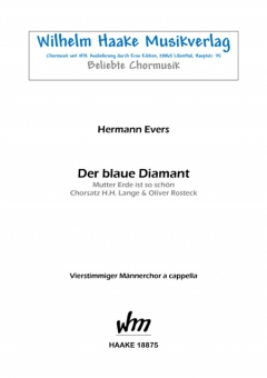Der blaue Diamant (Männerchor)