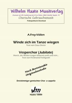 Vesperchor (Jubilate) (gemischter Chor 3st)