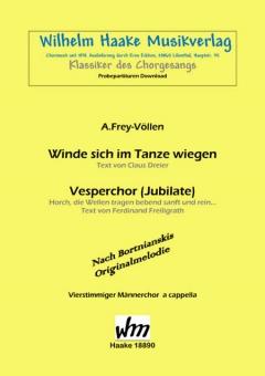 Vesperchor (Jubilate) (Männerchor)